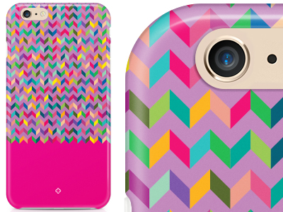 Cover in TPU + Screen Protector Summer Snow Fucsia