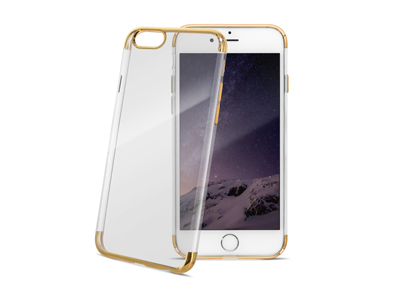 Cover TPU serie Electroplate Oro